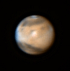 Mars closest to Earth