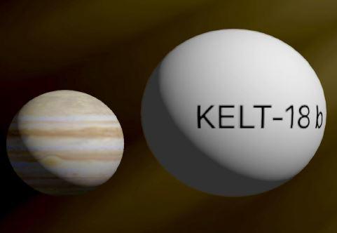Confirmation of Exoplanet KELT-18b transit time
