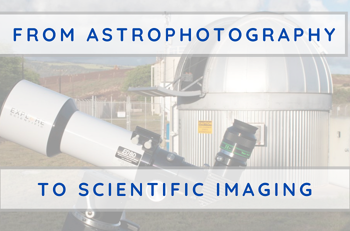 From Astrophotography to Scientific Imaging – An Introduction